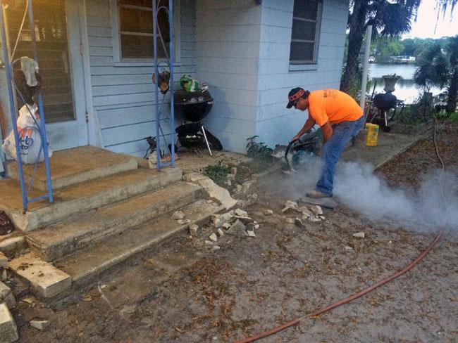 Concrete Patio Melbourne, Florida 01