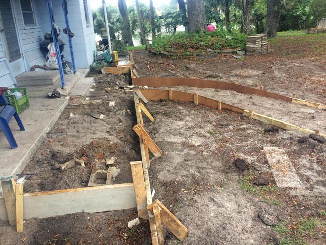 Concrete Patio Melbourne, Florida 02