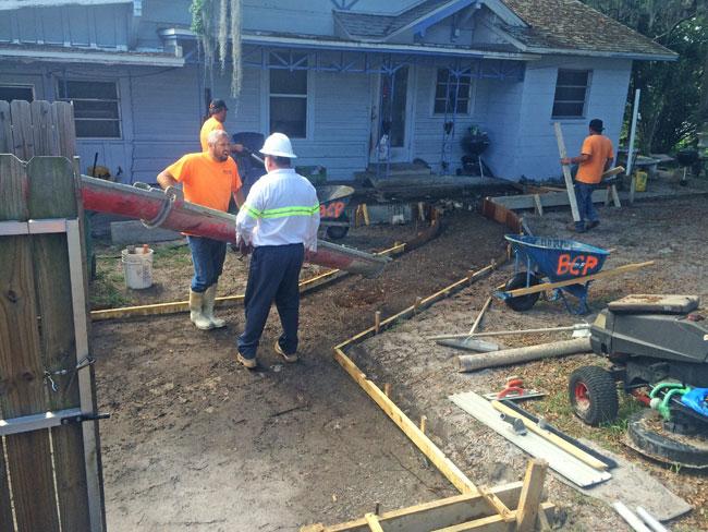 Concrete Patio Melbourne, Florida 05