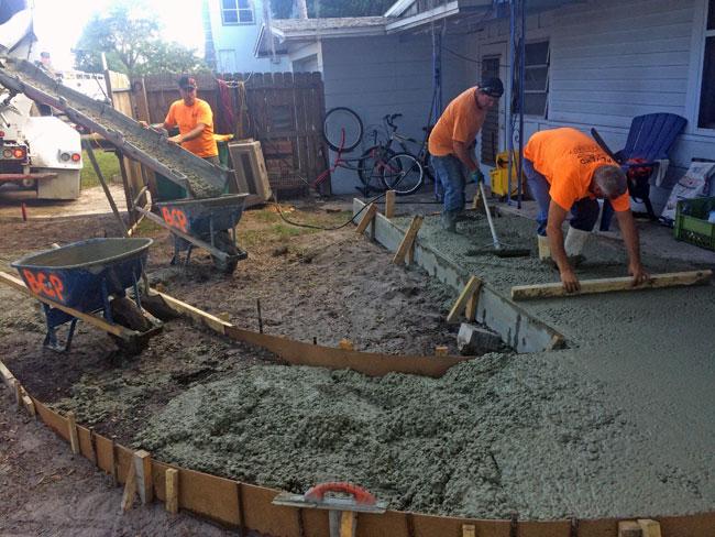 Concrete Patio Melbourne, Florida 07