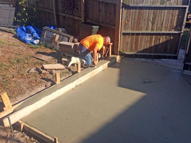 Concrete Patio Melbourne, Florida 10