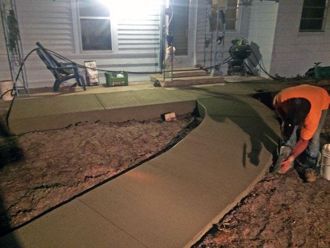 Concrete Patio Melbourne, Florida 11