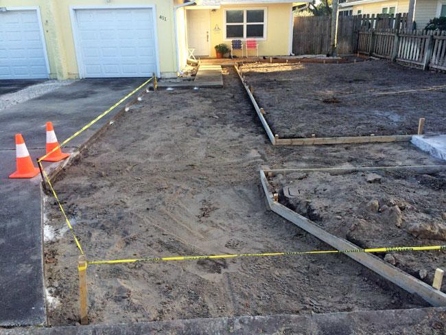 Concrete Driveway & Sidewalk Cape Canaveral - 03