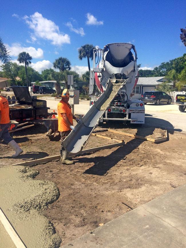 Concrete Driveway & Sidewalk Cape Canaveral - 10