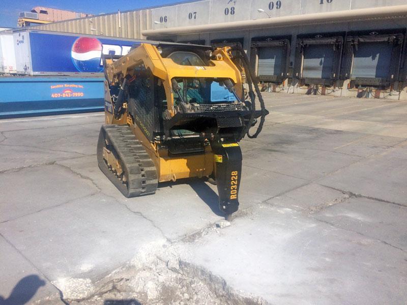 Concrete Demolition Contractor, Brevard County, FL - 01