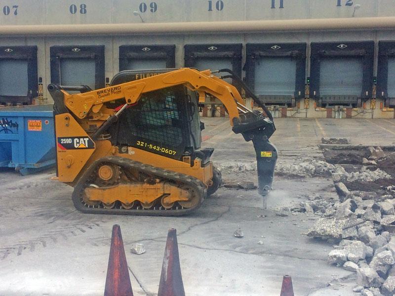 Concrete Demolition Contractor, Brevard County, FL - 05