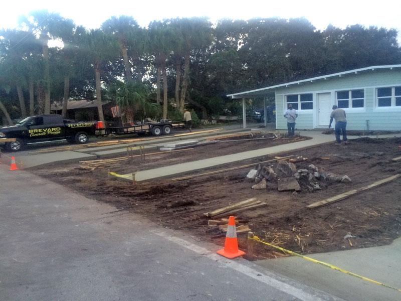 Custom Concrete Driveway Merritt Island FL - 15