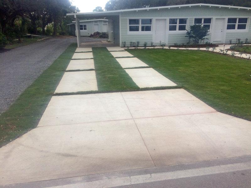 Custom Concrete Driveway Merritt Island FL - 16