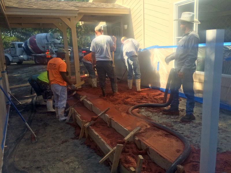 Decorative stamped concrete Cocoa contractor - 03