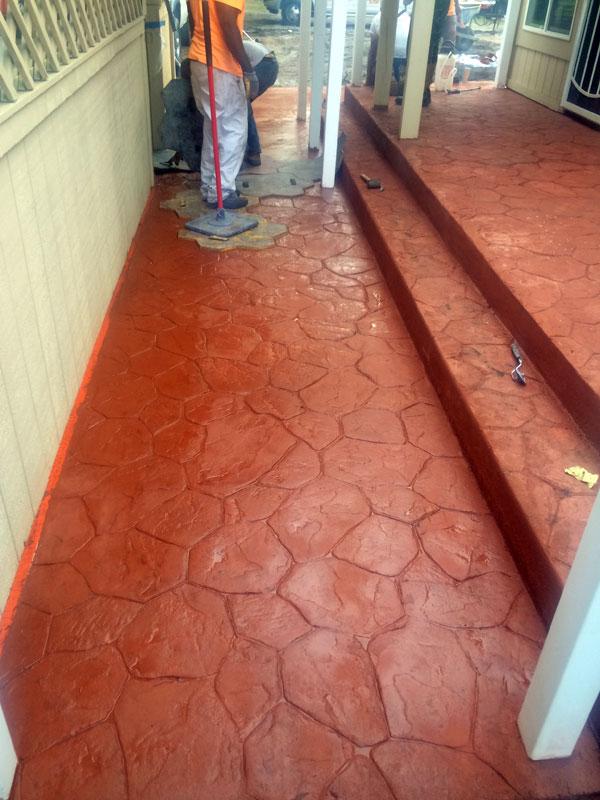 Decorative stamped concrete Cocoa contractor - 11