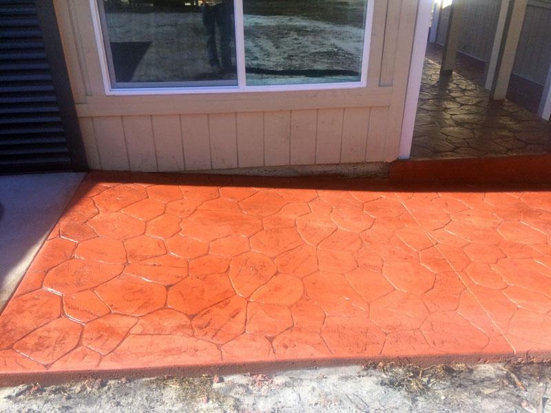 Decorative stamped concrete Cocoa contractor - 12