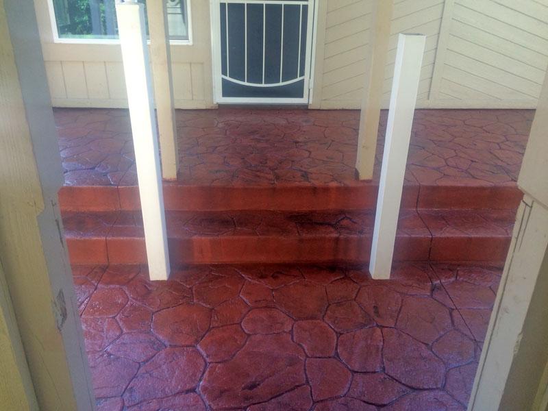 Decorative stamped concrete Cocoa contractor - 14