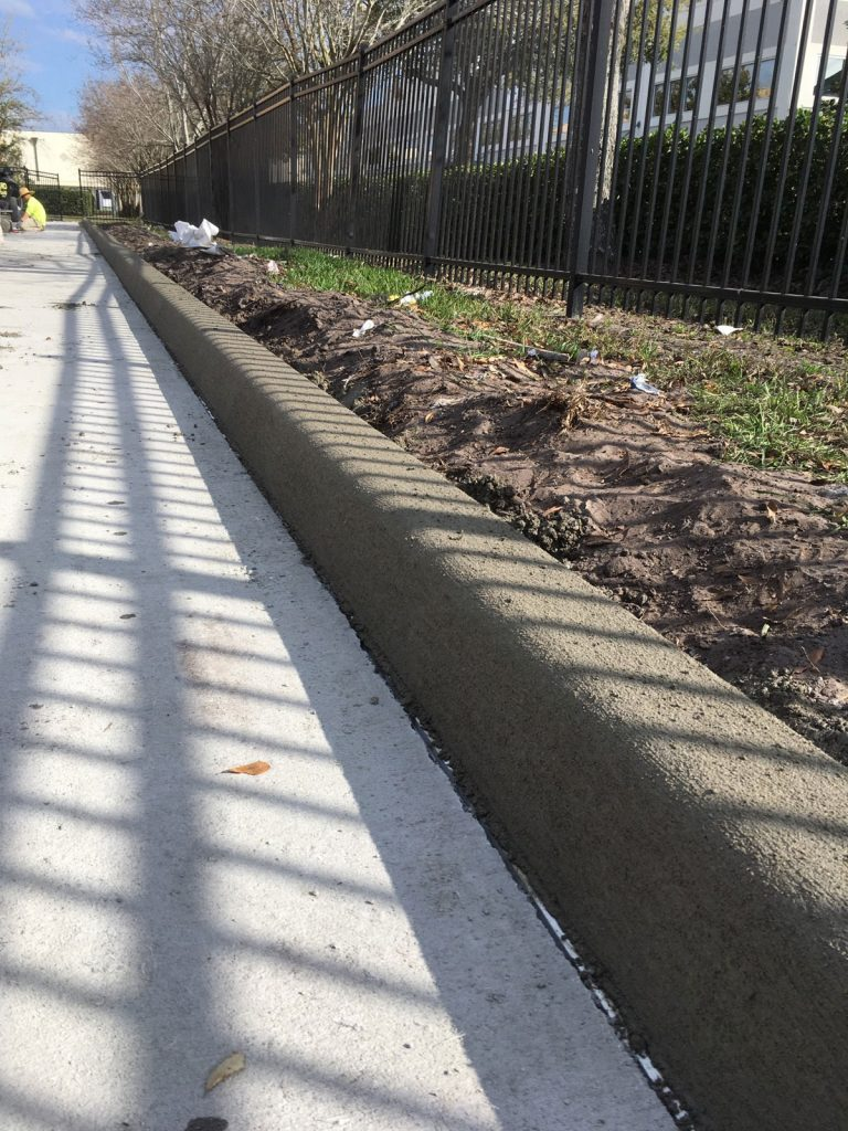 Concrete Curbing Contractor Brevard County Florida 05