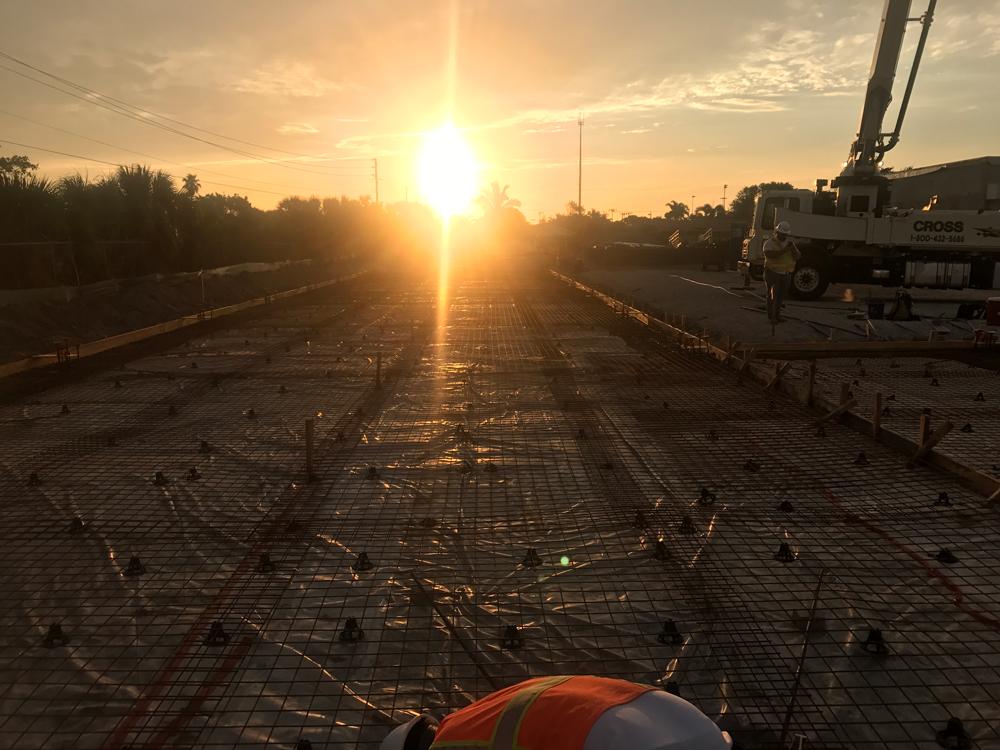 Commercial Concrete Contractor, Cocoa Florida - 01