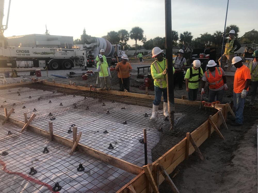 Commercial Concrete Contractor, Cocoa Florida - 02