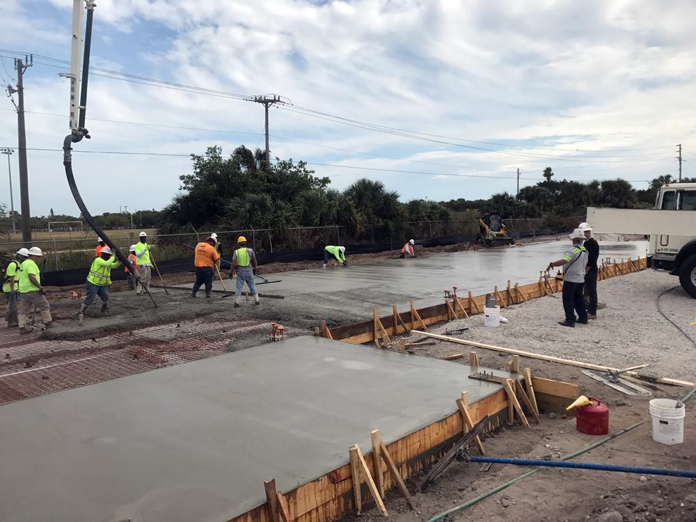 Commercial Concrete Contractor, Cocoa Florida - 06