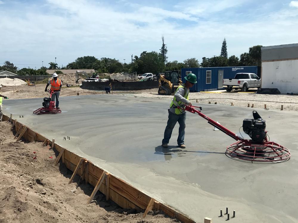 Commercial Concrete Contractor, Cocoa Florida - 08