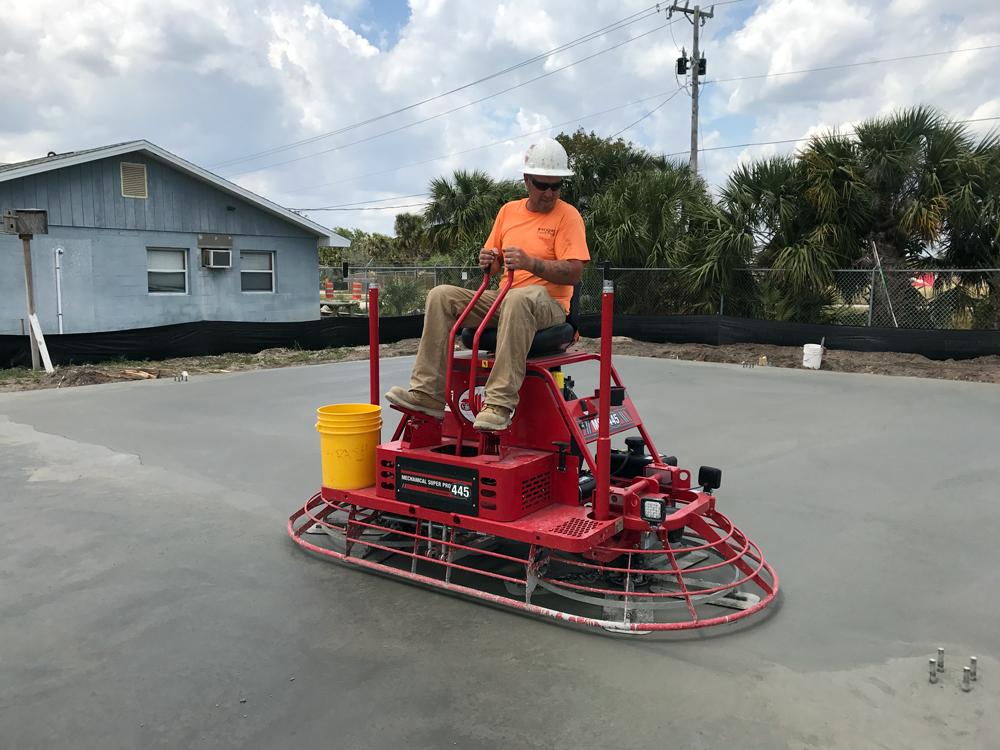 Commercial Concrete Contractor, Cocoa Florida - 09