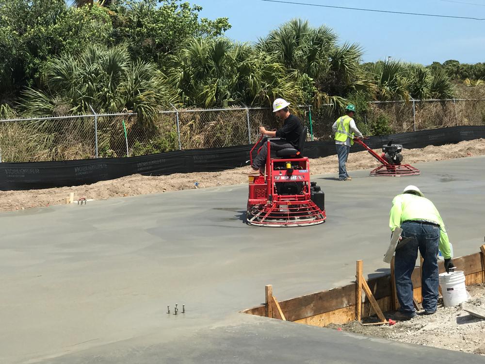 Commercial Concrete Contractor, Cocoa Florida - 14