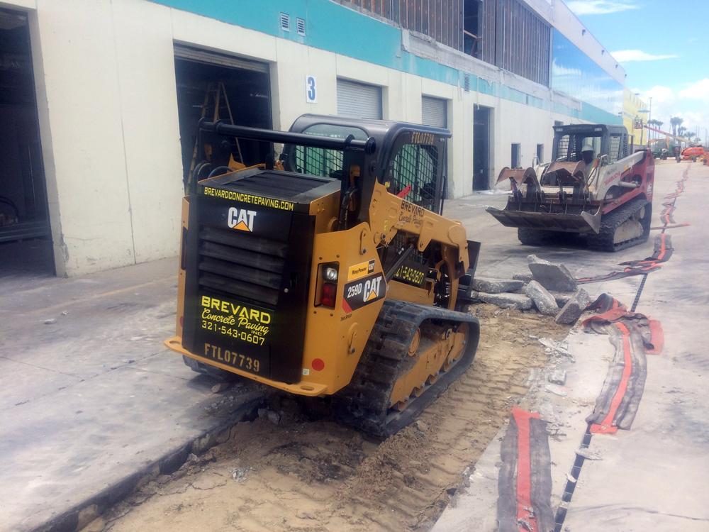 Commercial Concrete Contractor in Brevard County, Florida - 01