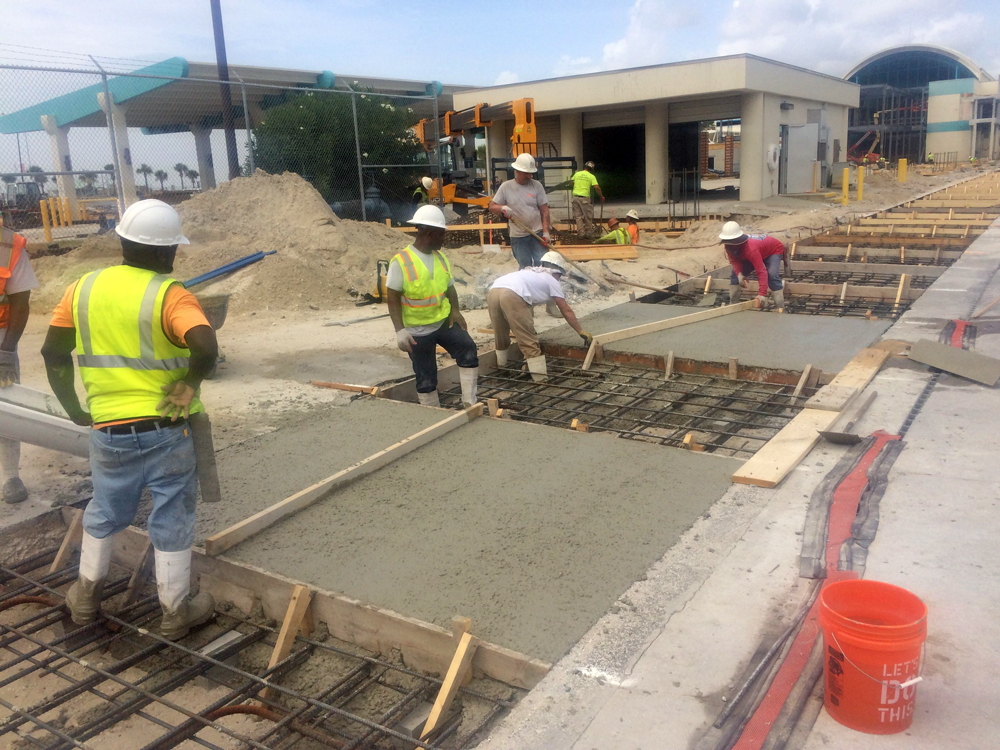 Commercial Concrete Contractor in Brevard County, Florida - 07