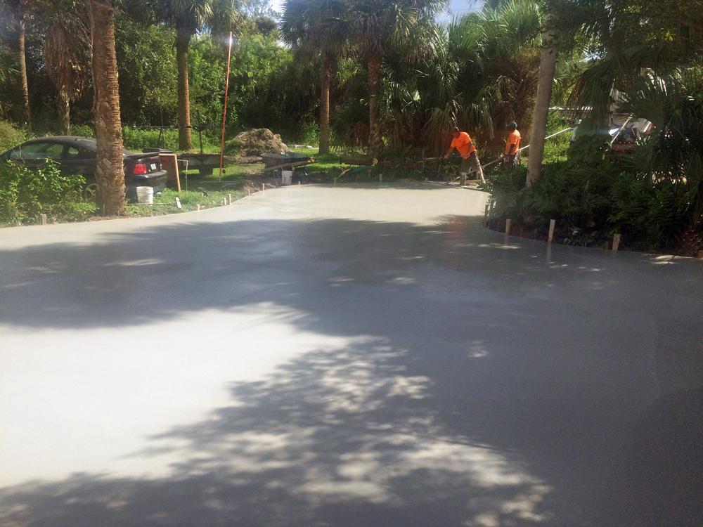 Concrete Contractor in Mims, FL - 08