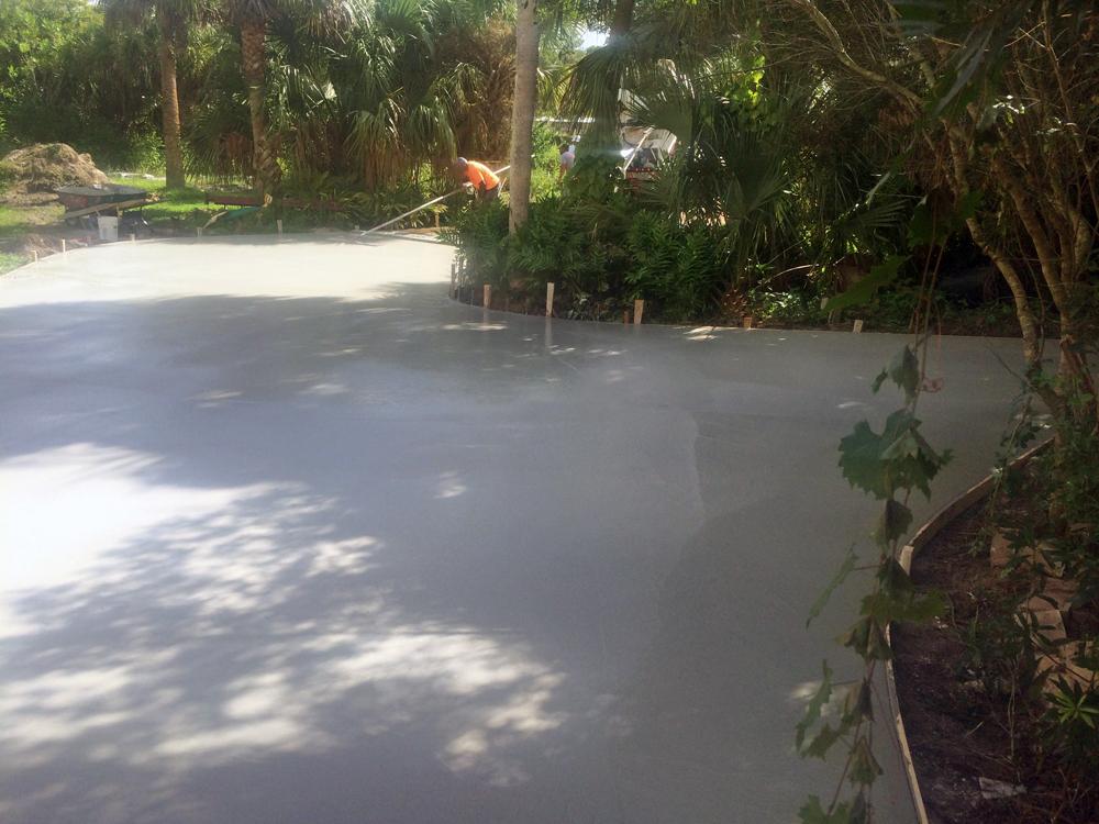 Concrete Contractor in Mims, FL - 09