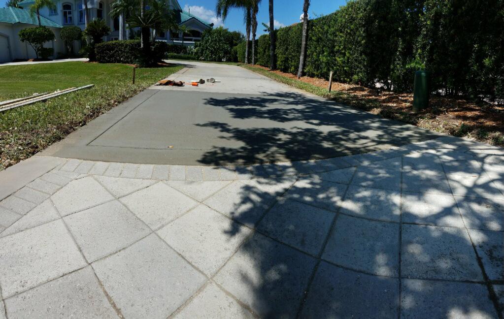 Concrete Driveway Contractor, Cocoa, Florida 02