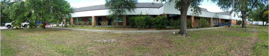 Concrete sidewalk Melbourne Florida - 06