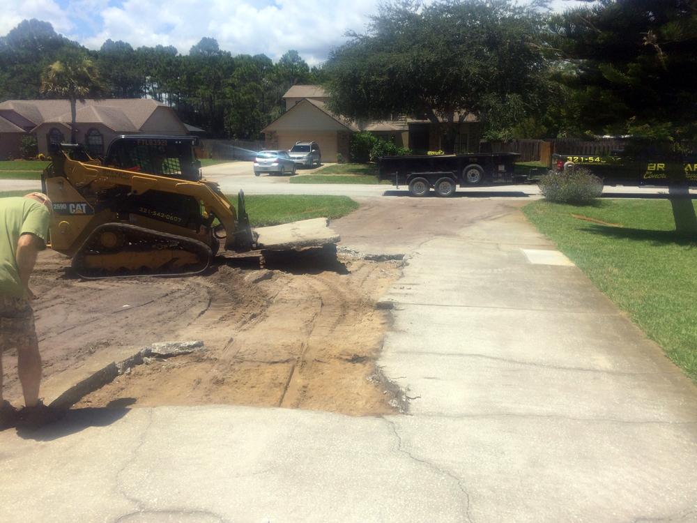 Residential Concrete Contractor in Cocoa, FL - 01
