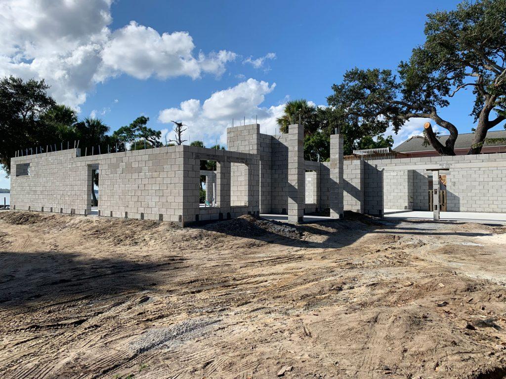 Concrete Slab and Concrete Block