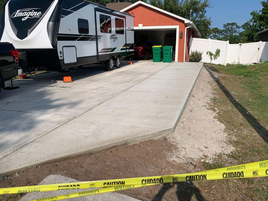 Extending Concrete Driveway Brevard
